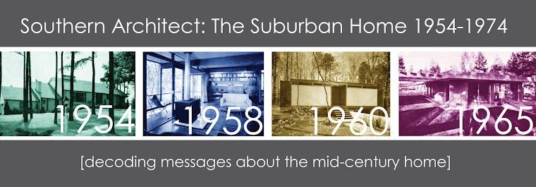 Southern Architect Magazine: The Suburban Home