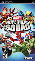 Marvel Super Hero Squad – PSP