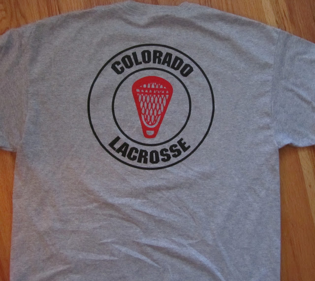 Colorado Buffs lacrosse shooting shirt