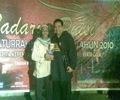 Menerima Piagam/Penghargaan dari Walikota Banjarbaru