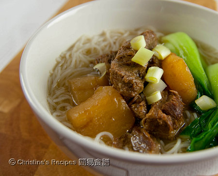 Beef Brisket Rice Vermicelli Soup01