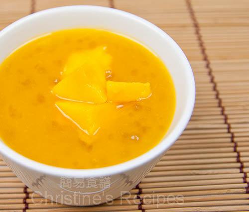 Mango & Tapioca Pearls Dessert01