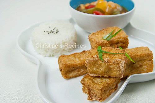 My sweet and sour tofu recipe on rasa malaysia christines recipes my sweet and sour tofu recipe on rasa malaysia christines recipes easy chinese recipes delicious recipes forumfinder Choice Image