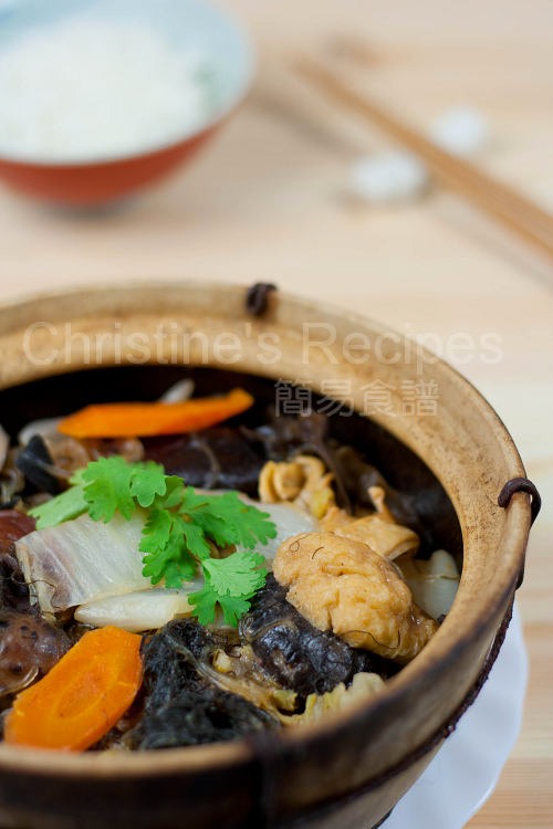 南乳炆粗齋 Braised Vegetables with Red Fermented Beancurd01