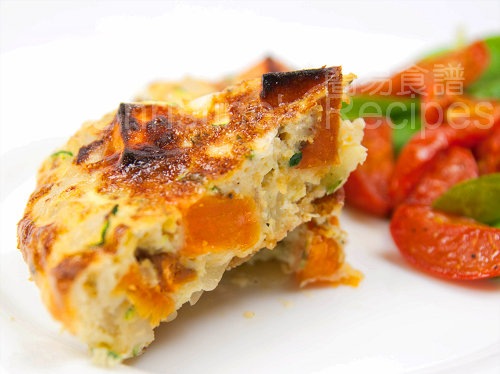 Zucchini & Sweet Potato Frittata01