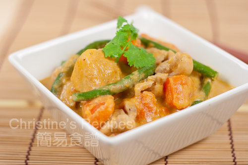 紅咖喱番薯雞 Chicken and Sweet Potato Curry02