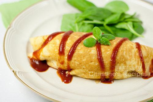 蛋包飯 Omurice01