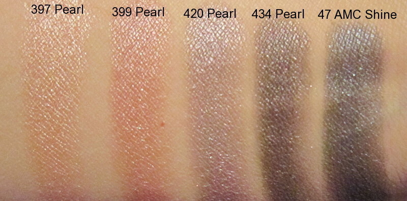 Make-up by Diana Lupulesc : Inglot Eyeshadow Swatches #397 ...