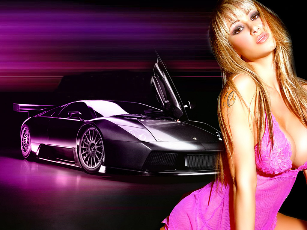 New Latest Fast Cars And Sexy Hot Models Acter Actres