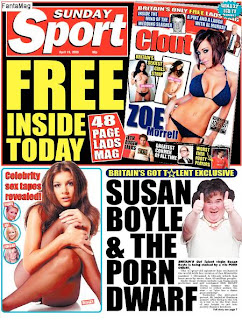 Daily Sport - 19th April 2009
