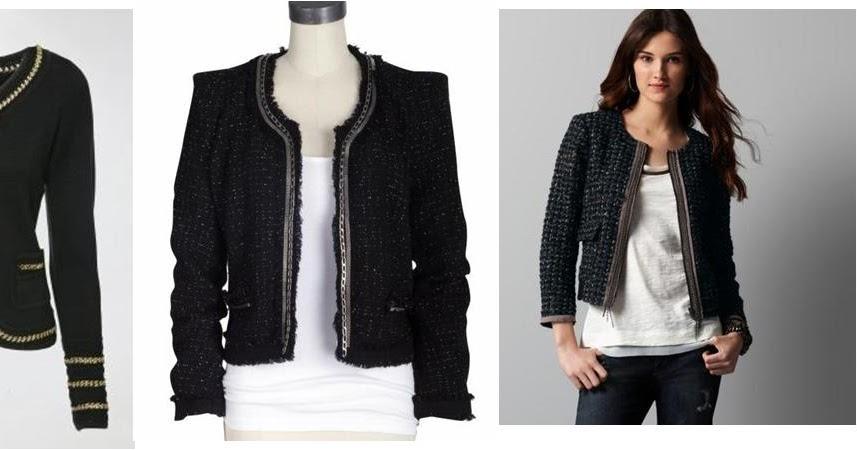 Real girl runway diy chain detail jacket for Ann taylor loft fashion island
