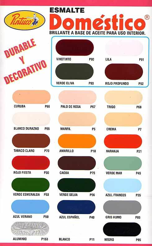 Carta colores de viniltex related keywords carta colores for Gama de colores para interiores