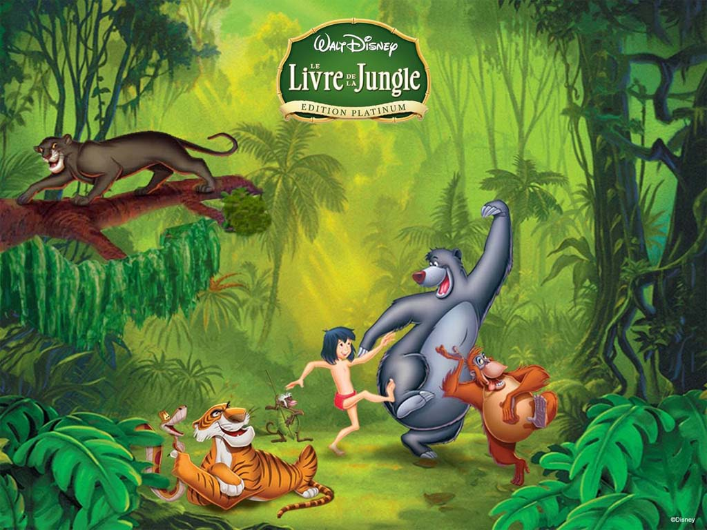 top cartoon wallpapers: jungle book cartoon wallpaper