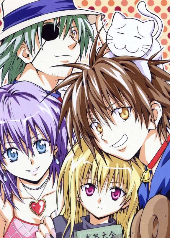 Top Cartoon Wallpapers: Black Cat Anime