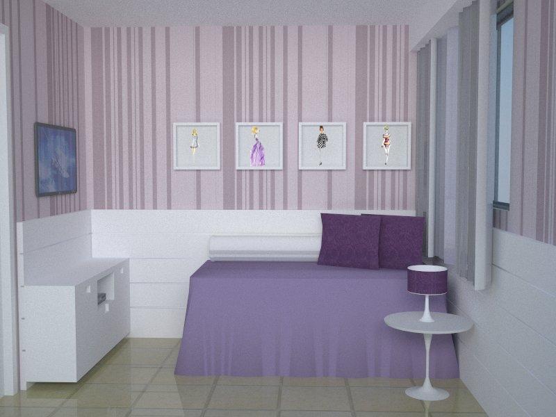 Juliana Freitas, Arquitetura+Interiores QUARTO DA ADOLESCENTE