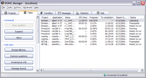 BOINC docking software