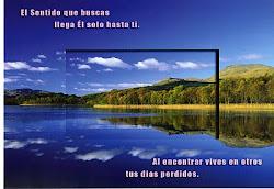 Una postal que me regaló mi amiga Montserrat