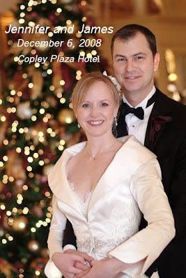 Jennifer Macauley and James Anderson real wedding by Boston photographer Carol Lundeen at the Copley Plaza Hotel