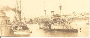 Armada Americana depois de um ataque