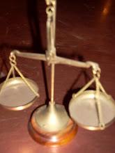 Balanza comercial y de justicia