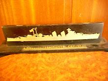 Almirante Cervera crucero ligero botado en Ferrol1925