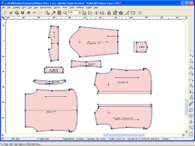 CAD PATTERN MAKING SOFTWARE » Patterns Gallery