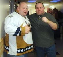 Cooney and friend Eric (Butterbean) Esch