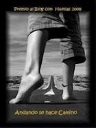 Premio al Blog con Huellas 2008