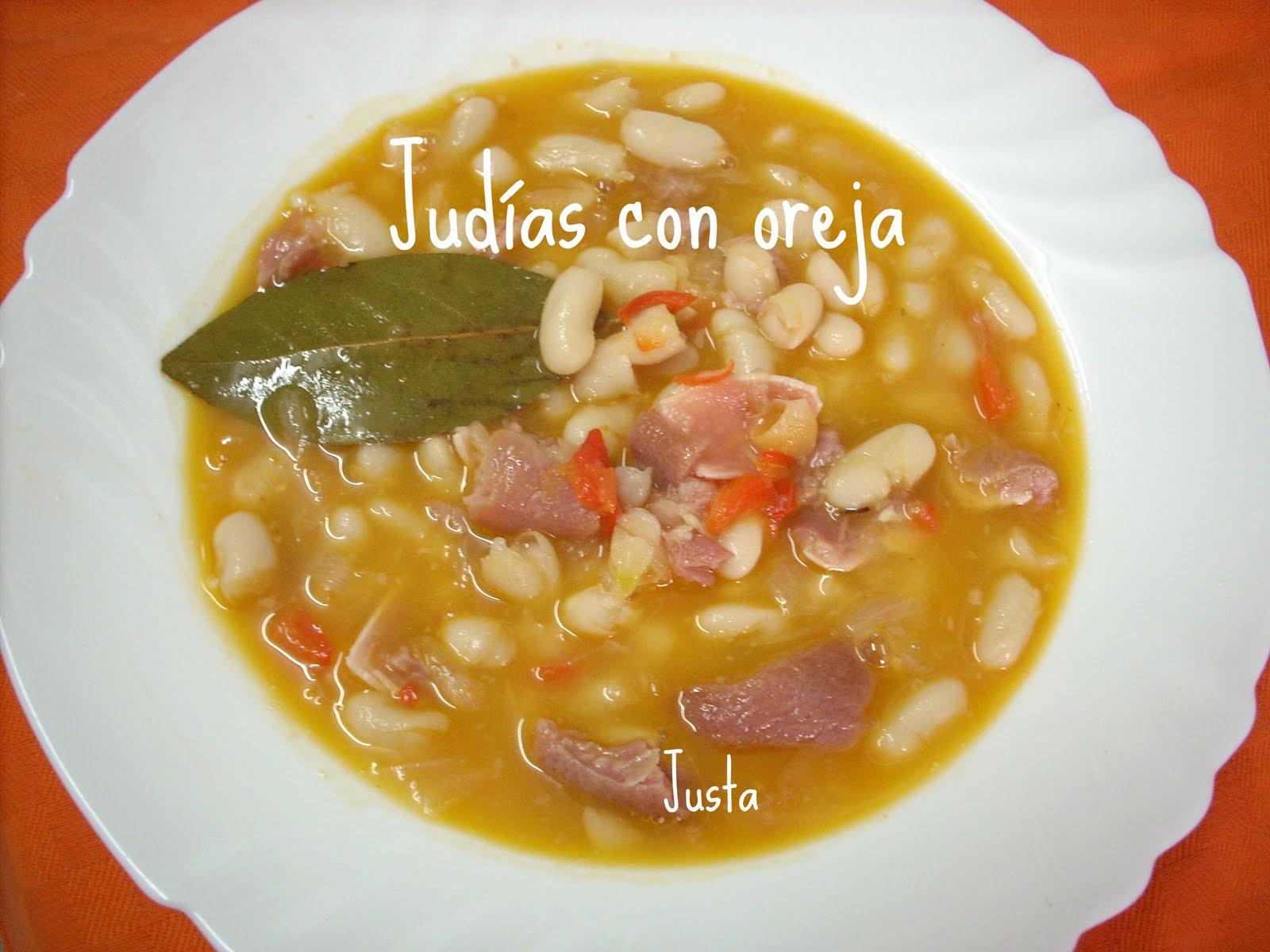 judias oreja: