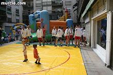 Exhibición luchas Olimpicas