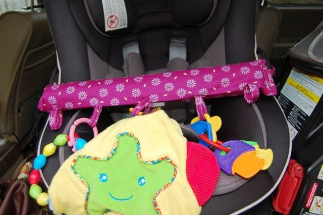 Sew A Toy Car Holder : Crafted by mama car seat toy holder