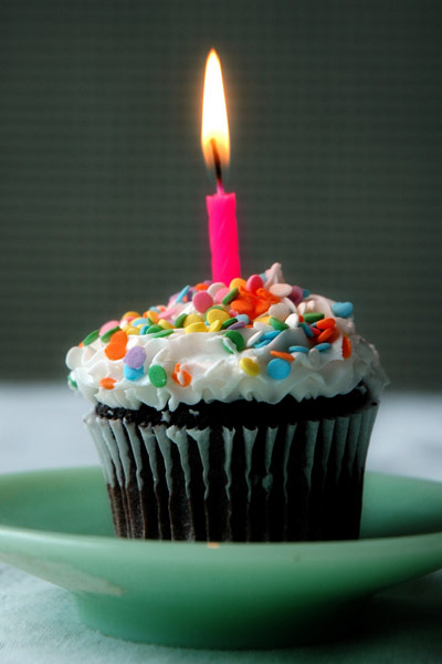 feel happy on a birthday.