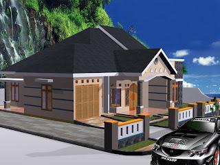 desain rumah tinggal on Desain Rumah Tinggal dan denah | Teknik Gambar