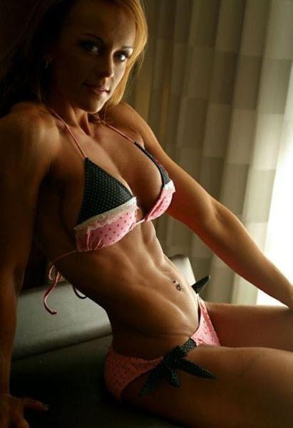 chicas abdomen plano