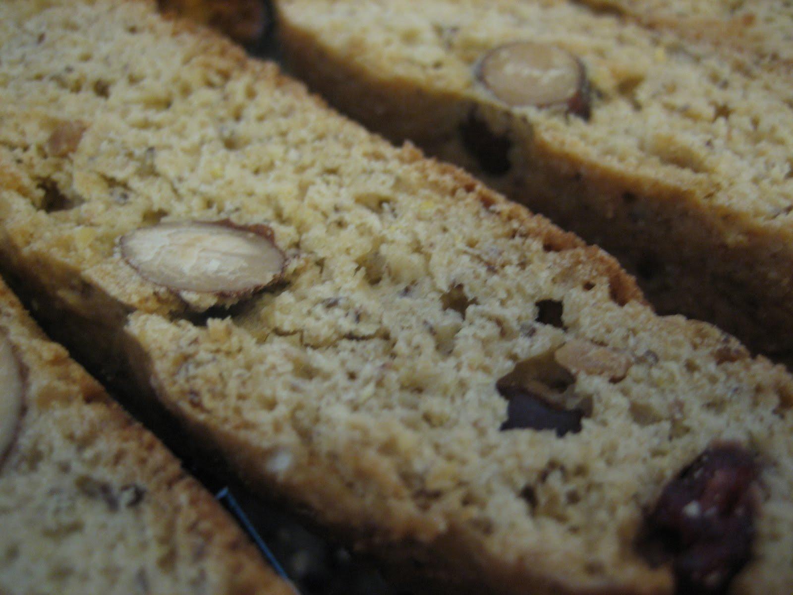 Lisa's Nutritious Kitchen Experiments: Honey Pistachio Biscotti