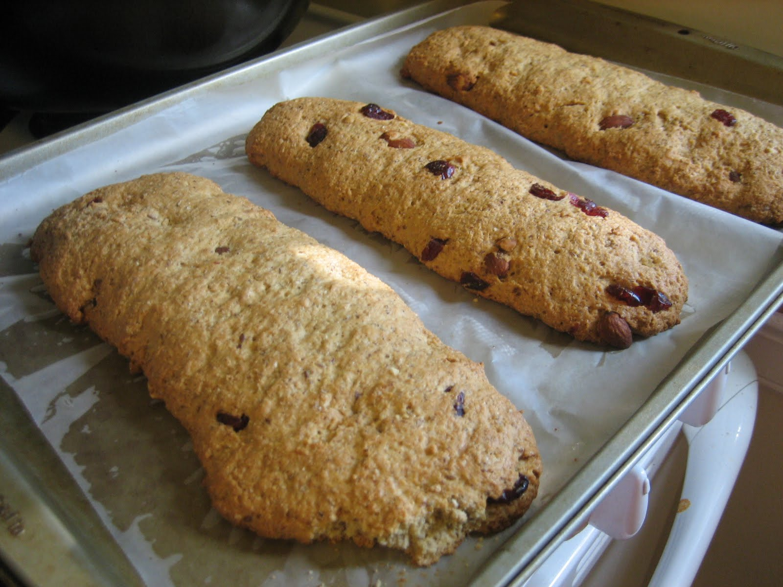 Lisa's Nutritious Kitchen Experiments: Honey Pistachio Biscotti