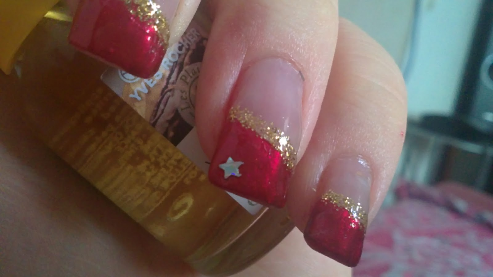 Beauty Welt and More: Weihnachts - Nageldesign