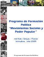 Portal e learning Programa de formación política de la RED KAT