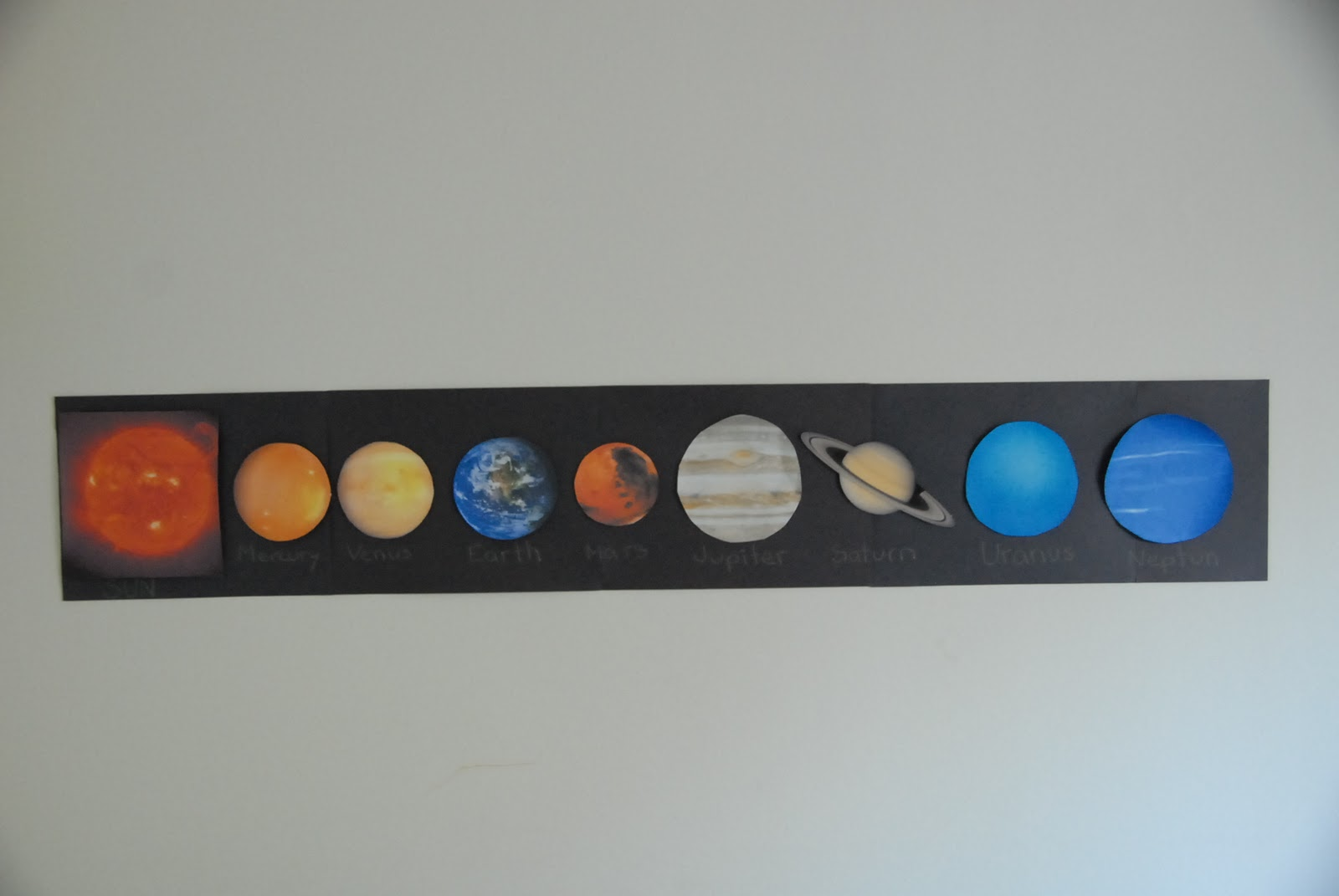solar system projects for kindergarten - photo #4