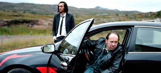 Pablo Nicomedes y Olivier Gourmet en 'Robert Mitchum est mort'