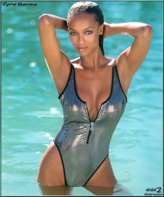 v banks model  Black Super Models