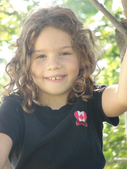 Teagan Skye, age 7 1/2