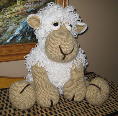 Wovenflame: Shaggy the Sheep