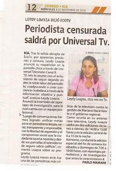 AHORA EN UNIVERSAL TELEVISION