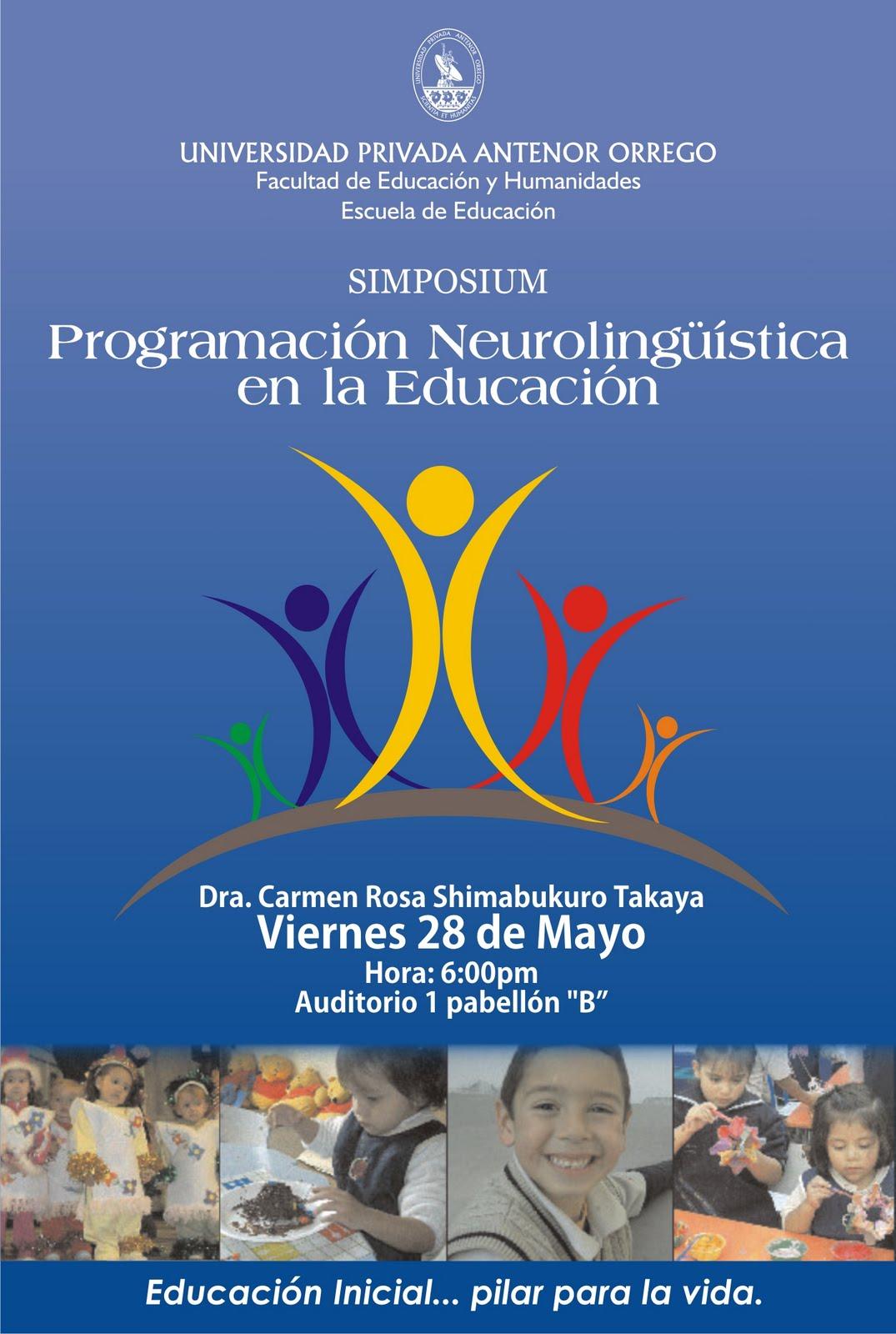 El blog de paz y bien: SIMPOSIO: PNL EN EDUCACION