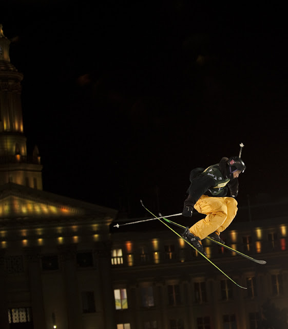 Kate Levy Photography: Denver Big Air Ski Competition