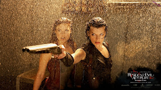Ali Larter dans Resident Evil Afterlife Wallpaper