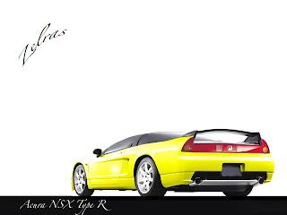 Fond d'écran Acura NSX Type R wallpaper