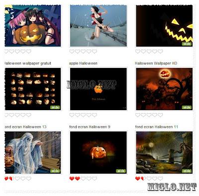 Wallpaper Halloween Fond d'écran