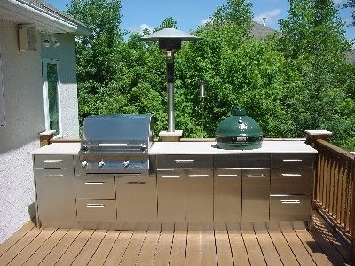 Modern kitchen interior designs outdoor summer kitchen for Outdoor summer kitchen ideas